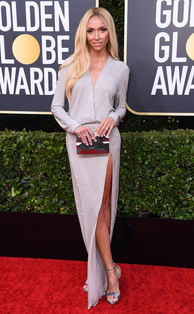 Image result for giuliana rancic 2020 golden globes