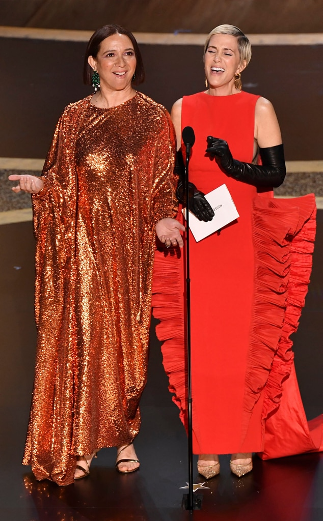 Image result for maya rudolph and kristen wiig oscars