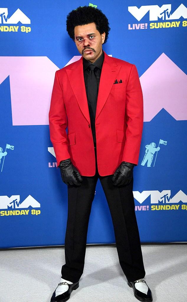 The Weeknd, 2020 MTV Video Music Awards, VMAs, Arrivals, Widget