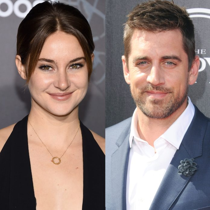 Shailene Woodley and Aaron Rodgers Get Cozy in Rare Sighting - E! Online -  AP