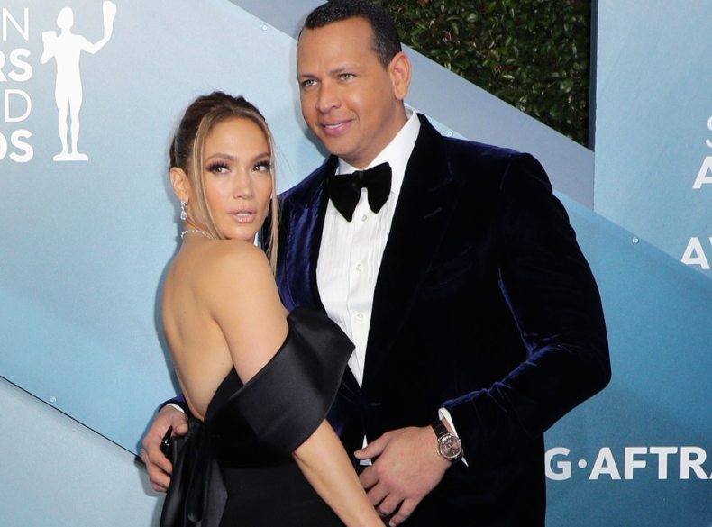 Jennifer Lopez, Alex Rodriguez, 2020 Screen Actors Guild Awards, SAG Awards, Couples