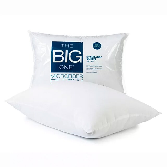 the big one microfiber pillow