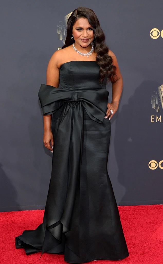 Mindy Kaling, 2021 Emmys, Emmy Awards, Red Carpet Fashions, Arrivals
