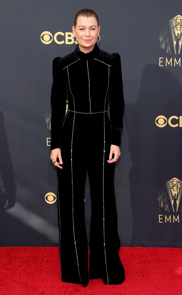 Ellen Pompeo, 2021 Emmys, Emmy Awards, Red Carpet Fashions, Arrivals