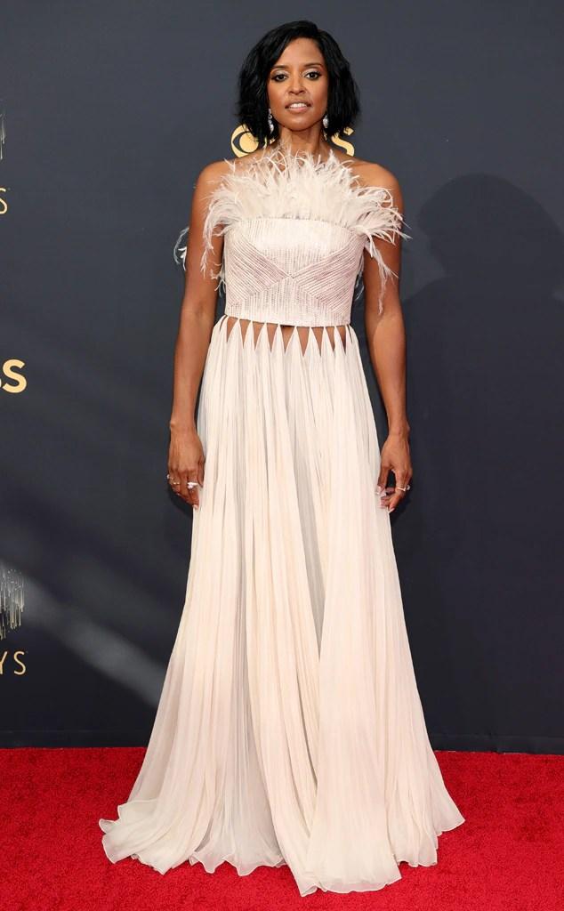 Renee Elise Goldsberry, 2021 Emmys, Emmy Awards, Red Carpet Fashions, Arrivals