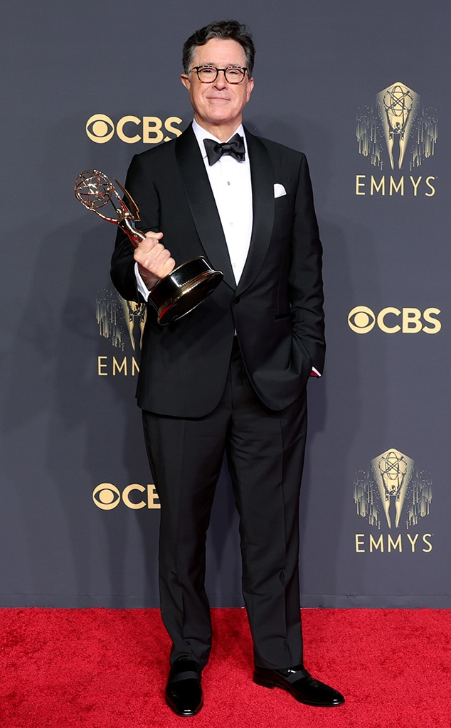 Stephen Colbert, 2021 Emmys, Emmy Awards, Red Carpet Fashions