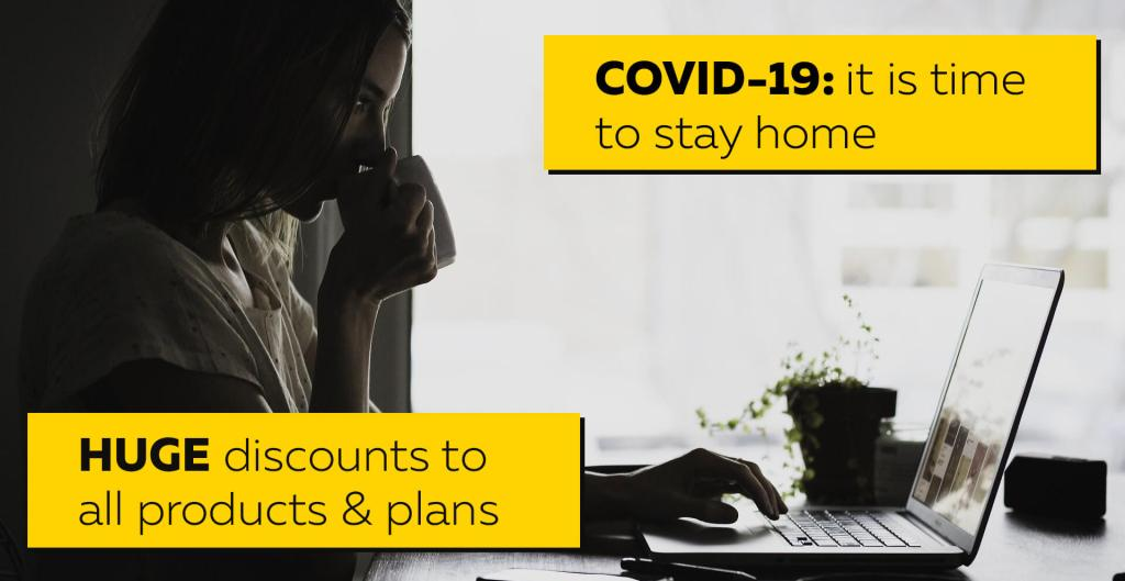 COVID-19: It's time to stay home