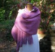 Winter rose wrap