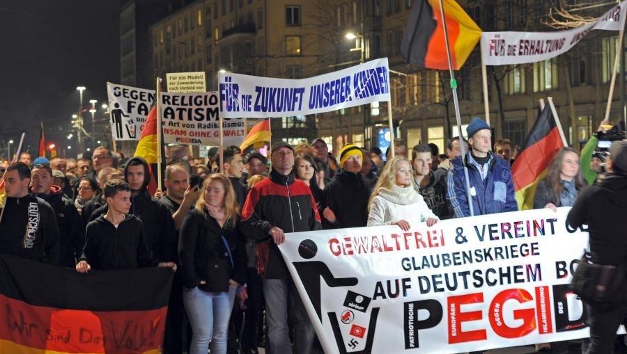 Marševi pokreta - Evropljani patriote protiv islamizacije Zapada (PEGIDA) [EPA]