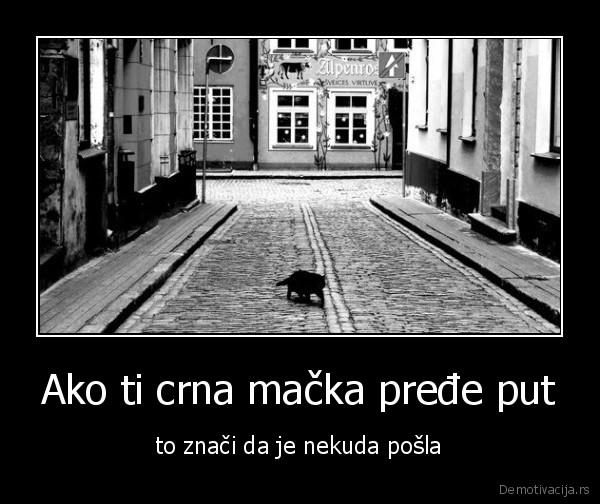 slika crne bake maca