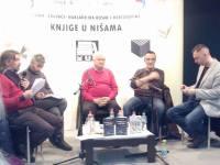 """Redakcija portala Akos.ba na promociji romana """"Nisam te se nagledao"""" autora Edina Krehića"""