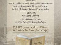 """Bihać: Promocija knjige """"Vjera i tradicija u identitetu Bošnjaka"""""""