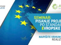 """AKOS: Poziv na seminar """"Pisanje projekata prema standardima EU"""""""