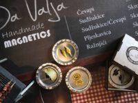 Bh. jela na unikatnim ručno rađenim magnetima: Popularizacija i promocija za buduće naraštaje