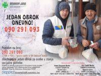 """Emmaus: """"Jedan obrok dnevno"""" za 182 korisnika u Srebrenici, Bratuncu, Gračanici i Doboj Istoku"""