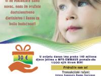 MFS-EMMAUS: Stipendije za 1.500 djece bez jednog roditelja