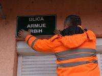 Sarajevo dobilo Ulicu Armije Republike Bosne i Hercegovine