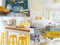 Dekor ideje: Žuta boja u uređenju prostora