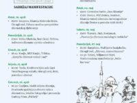 Program obilježavanja Dana džamija i džemata 20. april – 7. maj