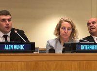 Alen Muhić u UN: Ovo je bol i patnja svih koji su na svijet došli kao i ja…