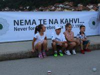 """Performansom """"Nema te na kahvi"""" u Goraždu obilježena godišnjica genocida u Srebrenici"""
