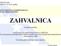 Glasačima u ambasadi BiH u Oslu bit će uručene simbolične zahvalnice
