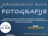 Udruženje Svitanje organizuje jednodnevni kurs fotografije