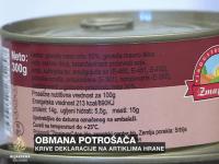 Hrana Oružanim snagama BiH: U goveđem naresku 70 posto svinjskog mesa