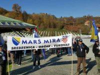Marš mira Srebrenica-Vukovar: Prepješačili 300 kilometara i odali počast žrtvama