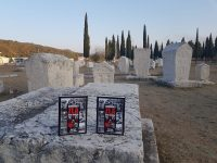 """Promocija knjige """"Svjedoci zla"""" Akifa Agića i Faruka Vele u Stocu"""