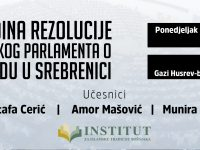 Tribina povodom 10 godina Rezolucije Evropskog parlamenta o genocidu u Srebrenici