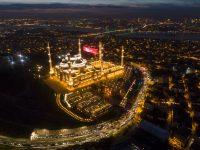 Camlica: Najveća novoizgrađena džamija u Turskoj otvorena za vjerske obrede