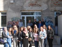 Studenti IPF-a na praktičnoj nastavi migrantskom kampuu Borićima