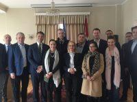 Alumnisti Škole za političke studije Vijeća Evrope posjetili Ambasadu BiH u Oslu