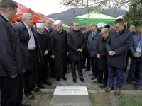 """U Kiseljaku svečano položen kamen temeljac za vakufsko-poslovni centar """"Divanhana"""""""
