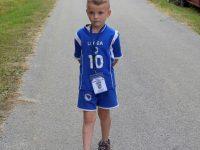 """Najmlađi učesnik """"Marša mira"""" šestogodišnji Salmir Sinanović iz Srebrenice"""