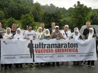 Ultramaratonci iz Vukovara stigli u Potočare: Poruka mira, tolerancije i dobrosusjedskih odnosa