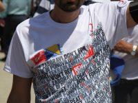 Mladi volonteri Turskog crvenog polumjeseca učešćem na Maršu mira odali počast srebreničkim žrtvama