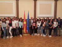 """Povodom """"Dana Bošnjaka"""" učenici u posjeti Sobranju"""