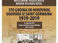 Muslimani Jugoslavije nakon Velikog rata: Sto godina od Mirovnog ugovora iz St. Germaina 1919-2019