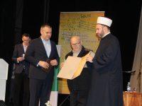"""Abdulahu Sidranu dodijeljena Povelja """"Muhamed Hevai Uskufi"""" za životno djelo"""