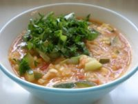 Iftarski meni: Kremasta paradajz supa s rižom