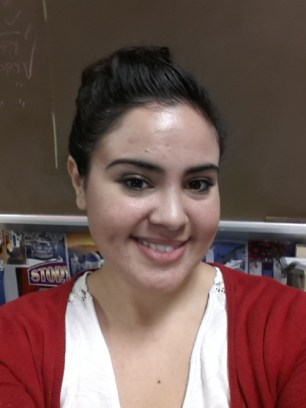 The lights in my classroom make my skin look super white! But you can see that my skin is much smoother! :)