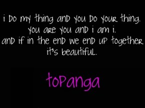 the topanga quote, soulmates