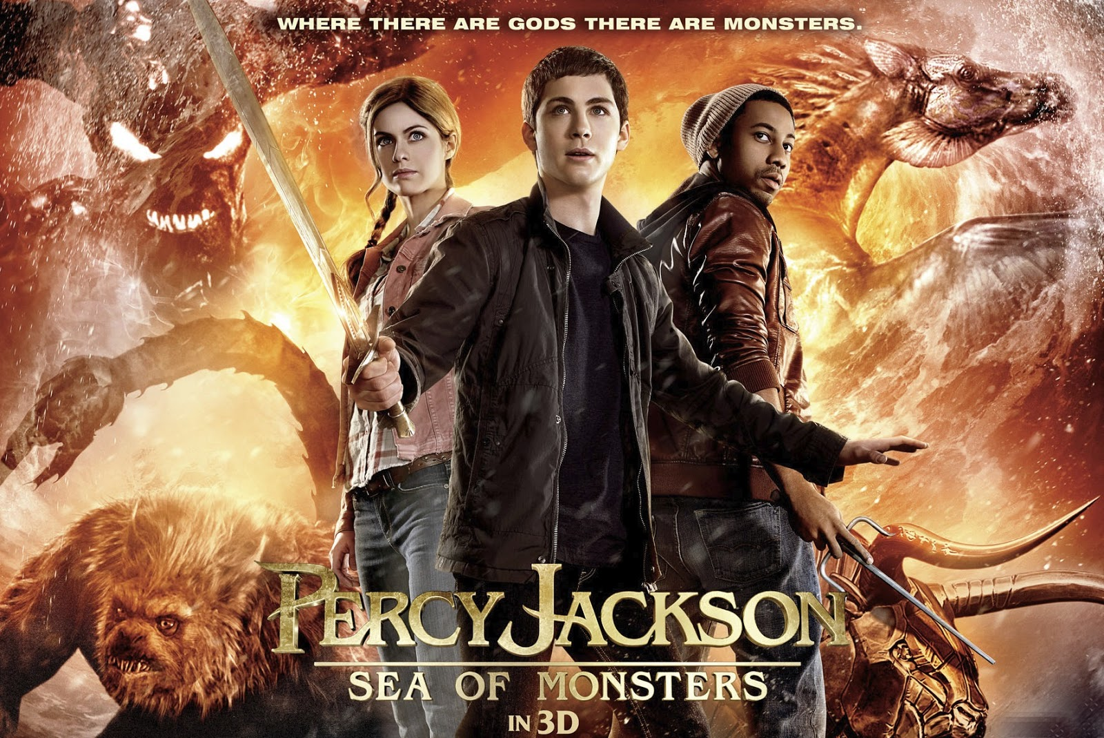 Review Percy Jackson And Sea Of Monsters
