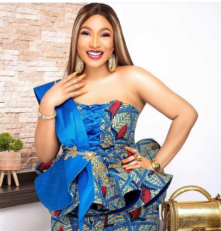 Mrs Churchill replies those castigating her for marrying Tonto Dikeh's ex-husband