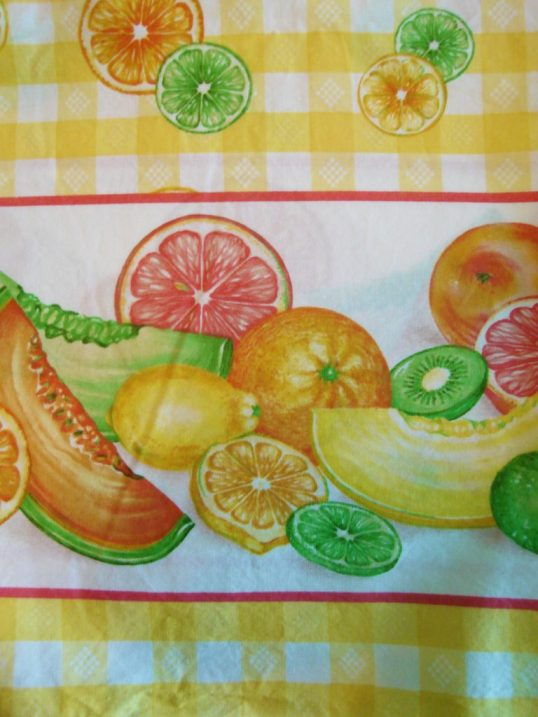 Fruity Lemon fabric