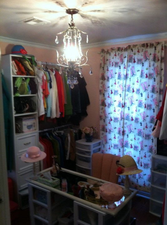 My beautiful closet