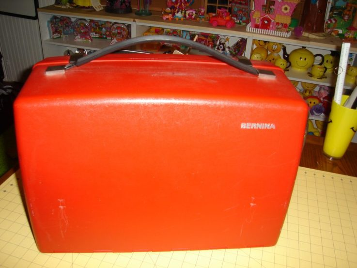 Bernina Red Case