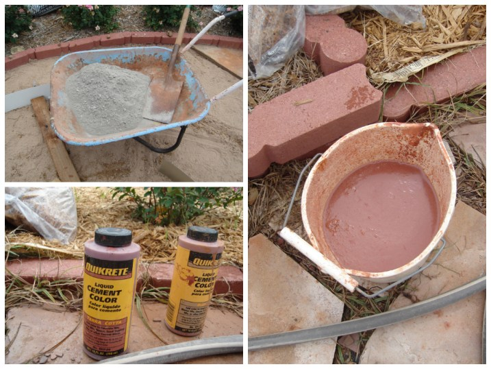 Patio stone supplies